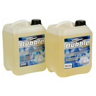 Showtec Bubble Liquid Seifenblasen Flüssigkeit, 5 l, ready to use