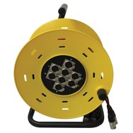 Accu Cable AC-MCR 8/15 8Ch cable drum, 15 meter