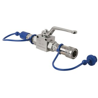 Showtec CO2 Q-Lock Shut-off valve