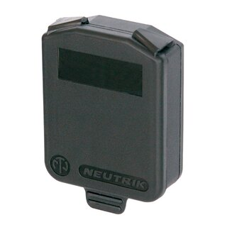 Neutrik D-size hinged cover IP42