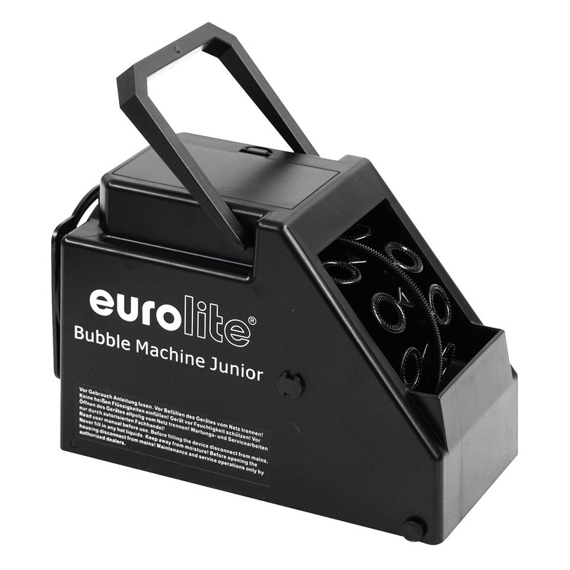 Veranstaltungs- & Dj-equipment Nett Eurolite Seifenblasenmaschine Schwarz Tv, Video & Audio