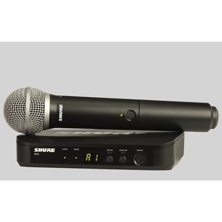 Shure BLX24E/PG58 Vocal-Set mit PG58, M17 (662...686 MHz)